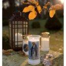 Grabkerzen Nr. 7 rot Grabkerze Grablicht Kompo Engel von Bolsius