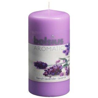 6 Duft Stumpen Kerzen 120x60 mm Vanille von Bolsius 1 Wahl