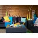 4 Kerzengläser gefüllt 62x106 mm Summer Lounge Kerze im Glas Bolsius
