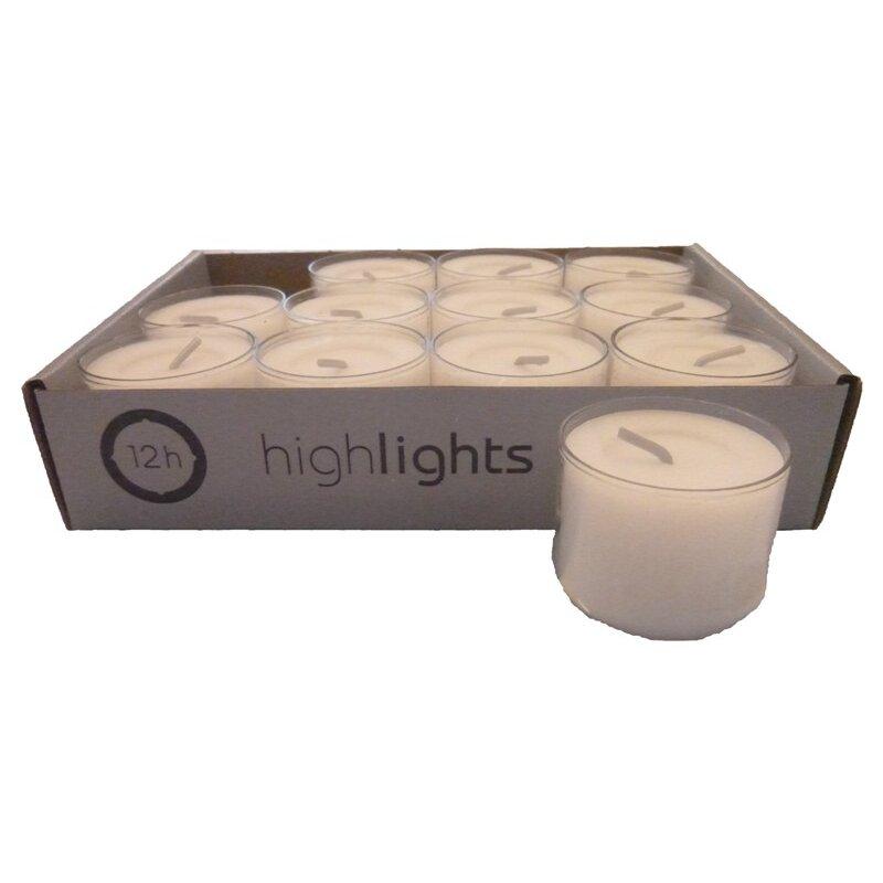 teelichter im acryl cup 120 teelichter acryl cup transparent weiss 12 std brenndauer highlights. Black Bedroom Furniture Sets. Home Design Ideas