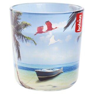Bolsius Gefülltes Duftglas 97x91 mm Holiday Dreams XL Karibik Strand
