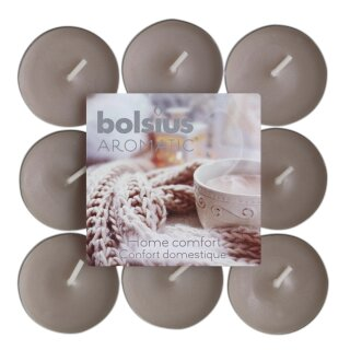 Bolsius Duftteelichte 18er Pack Limited Edition Home Comfort (1 Pack)